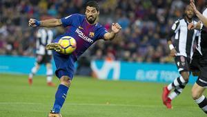 LALIGA | FC Barcelona - Levante (3-0): El gol de Suárez