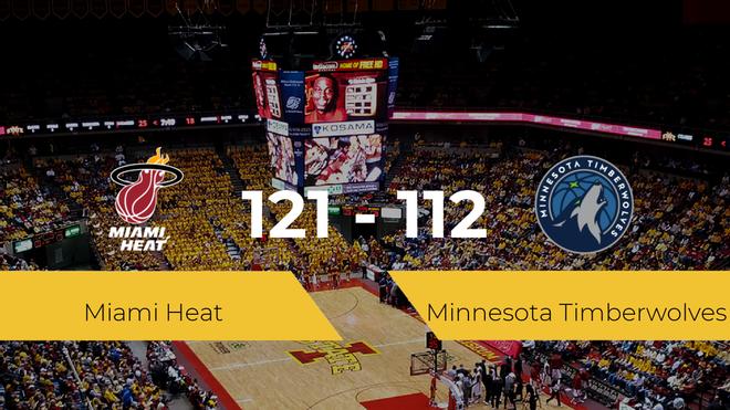 Miami Heat gana a Minnesota Timberwolves (121-112)