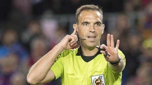 Cuadra Fernández será el encargado de dirigir el Rayo - Barça