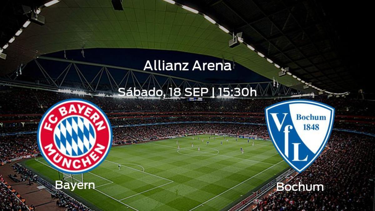 Previa del partido: el Bayern de Múnich recibe al Bochum