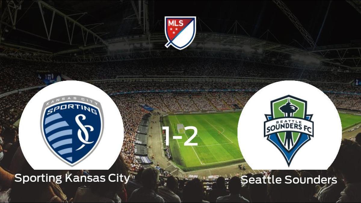 El Seattle Sounders se lleva el triunfo tras derrotar 1-2 al Sporting Kansas City
