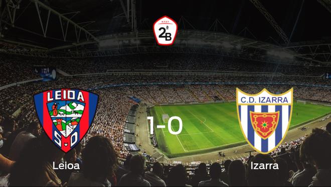 El Leioa gana en casa al Izarra por 1-0