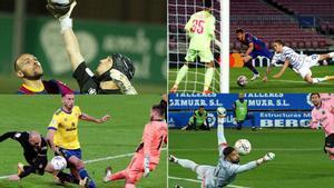 Ramon Juan, Neshcheret, Ledesma y Pacheco se han lucido contra el Barça