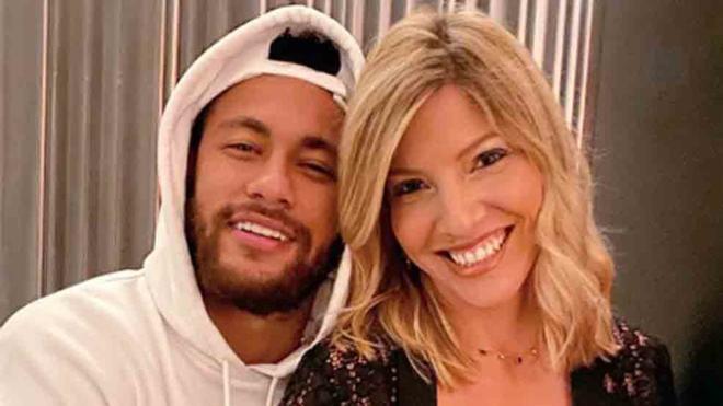 Neymar colgó esta imágen de su estancia en Barcelona