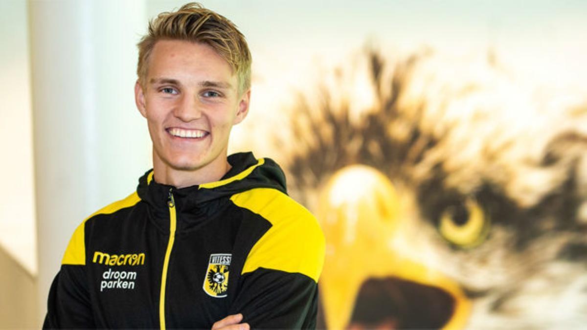 Odegaard, cedido al Vitesse