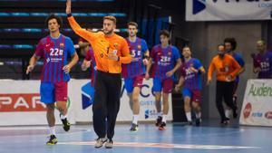 Pérez de Vargas con el Barça