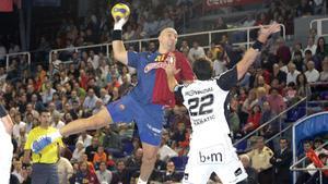 Demetrio Lozano y Karabatic jugaron en el Barça y en el Kiel