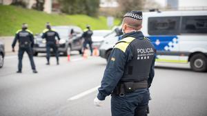 Pleno al 15: un conductor da positivo en todas las drogas detectables en un control en Barcelona