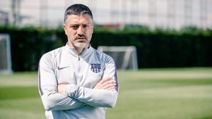 García Pimienta, exentrenador del Barça B