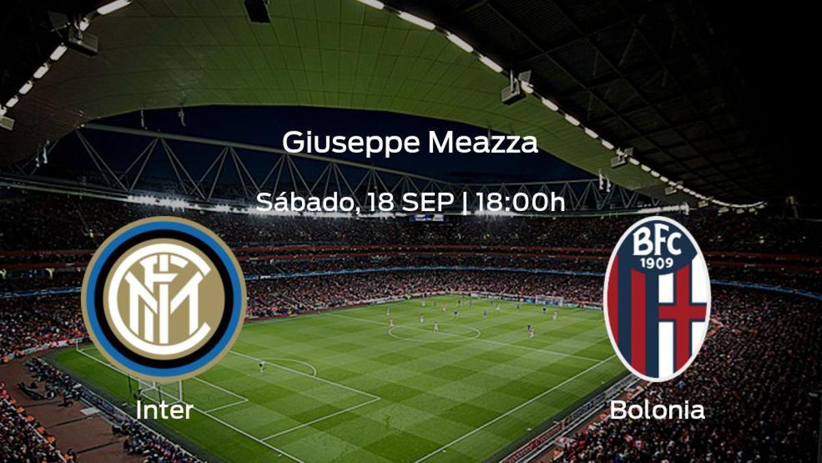 Previa del partido: el Inter recibe en su feudo al Bolonia