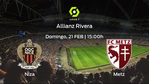 Jornada 26 de la Ligue 1: previa del encuentro OGC Niza - FC Metz
