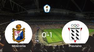 El Praviano se lleva el triunfo tras derrotar 0-1 al Mosconia