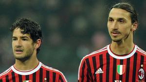 Pato e Ibrahimovic ganaron el último Scudetto del Milan en 2011