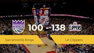 LA Clippers consigue la victoria frente a Sacramento Kings por 100-138