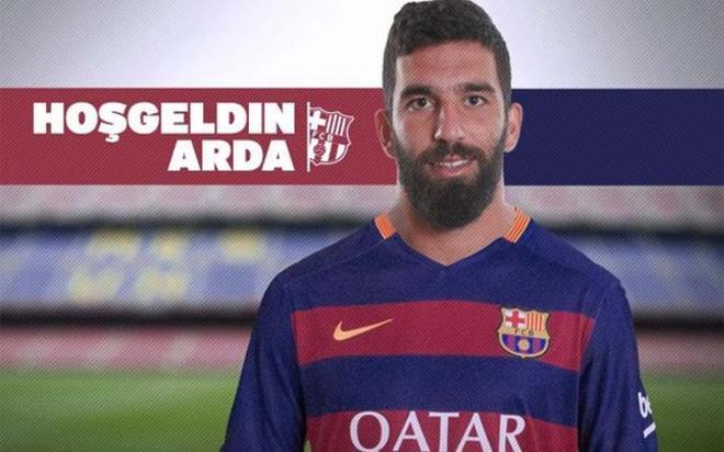 Arda Turan, nuevo jugador del Fútbol Club Barcelona