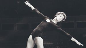 Larisa Latynina en Melbourne 1956