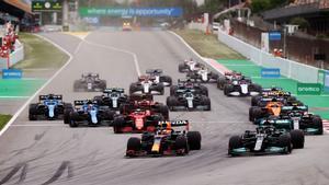 Verstappen y Hamilton han mantenido un precioso pulso en el Circuit