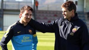 Messi se emociona recordando a Tito Vilanova
