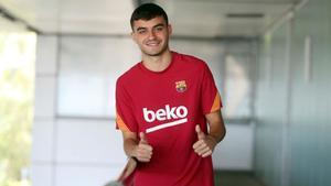 Pedri, jugador del FC Barcelona