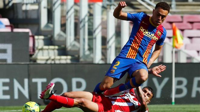 El 1x1 del Barça ante el Atlético de Madrid