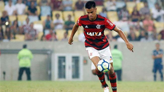 Reinier mejora los números de Vinícius y Rodrygo en Brasil