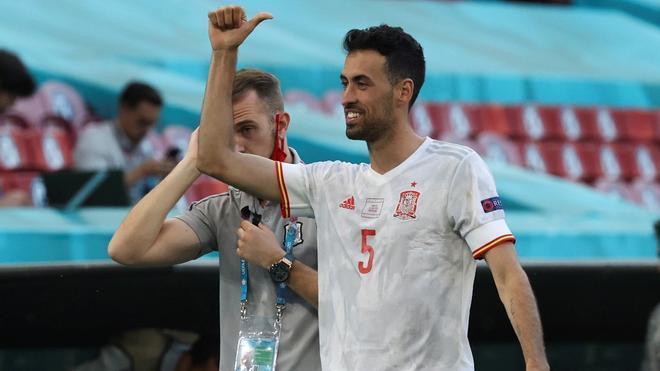 Sergio Busquets fue designado MVP del partido ante Croacia