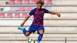 Konrad, autor de dos goles ante el Ebro