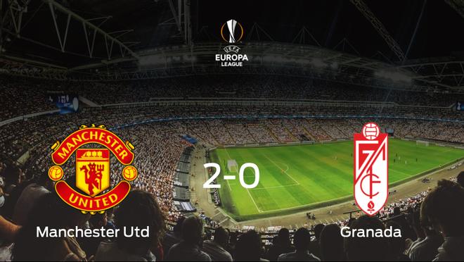 El Manchester United elimina al Granada en cuartos de final tras vencer 2-0