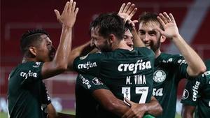 El Palmeiras vive momentos de máxima felicidad