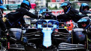 Alonso y Alpine siguen en progresión