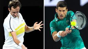 Djokovic vs. Medvedev, la previa de la final del Open de Australia