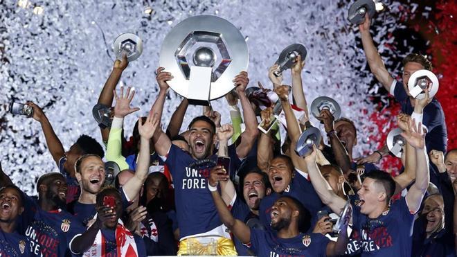 El Mónaco ha puesto fin a la hegemonía del PSG en Francia