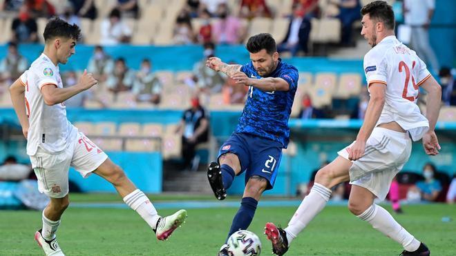 La selección española firmó un gran partido y logró la clasificación