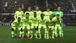 El 1x1 de los jugadores del Barça en la derrota ante el Levante