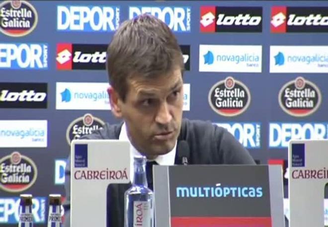 Las declaraciones de Tito Vilanova y Oltra tras el Depor-Barça