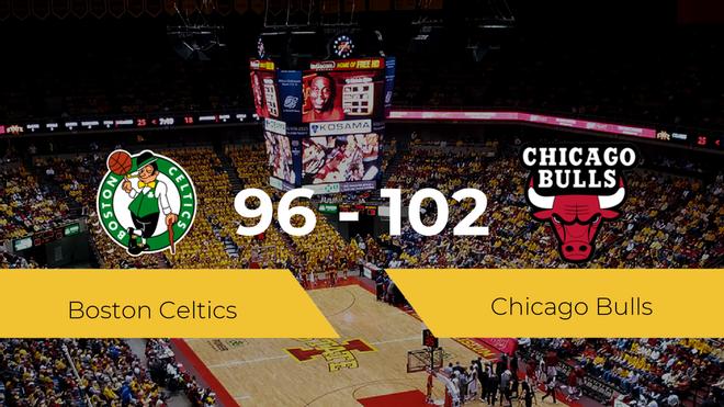 Chicago Bulls se hace con la victoria contra Boston Celtics por 96-102