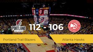 Portland Trail Blazers vence a Atlanta Hawks por 112-106
