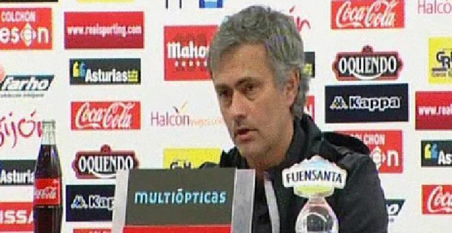 Mourinho: Metimos el primero cuando menos lo merecíamos