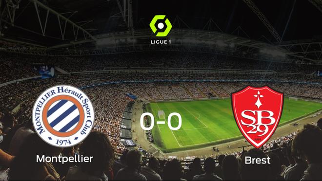 El Montpellier y el Brest firman un empate sin goles (0-0)
