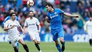 Ignasi Miquel ha jugado esta última campaña en Primera con el Getafe