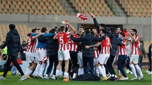 El Athletic ganó la Supercopa ante el Barça
