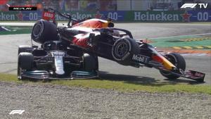 Verstappen acabó encima de Hamilton