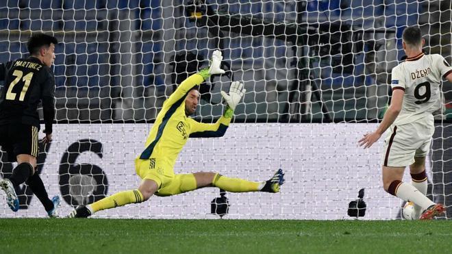 La Roma empata ante el Ajax y está en semifinales: el resumen del partido