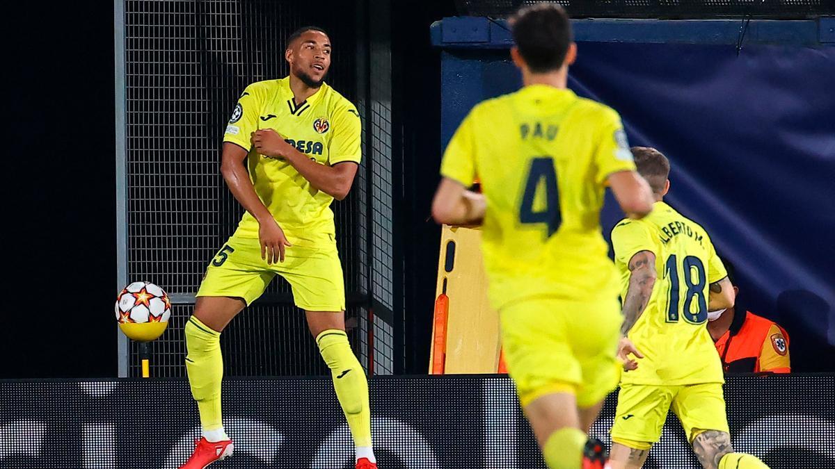 Groeneveld anotó el segundo tanto del Villarreal ante la Atalanta