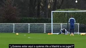 """Cazan el palo de Mourinho a Bale: """"¿Quieres estar aquí o quieres irte a Madrid a no jugar?"""""""
