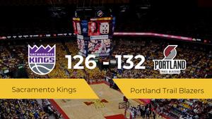 Portland Trail Blazers consigue ganar a Sacramento Kings (126-132)