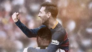 Messi igualó el récord de Pelé