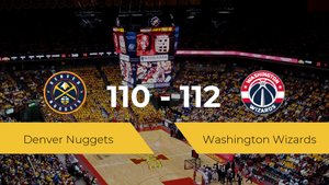 Washington Wizards gana a Denver Nuggets (110-112)