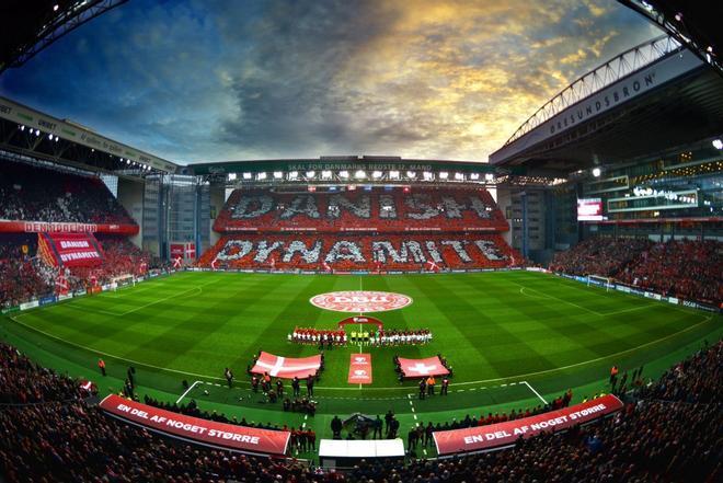El Parken será la casa de Dinamarca durante la Eurocopa