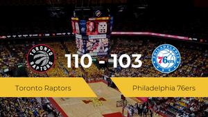 Toronto Raptors logra la victoria frente a Philadelphia 76ers por 110-103